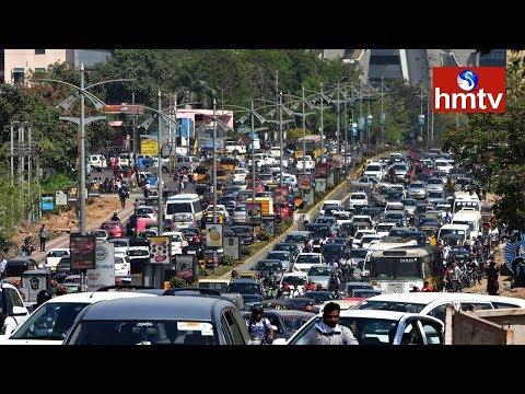 Biodiversity Junction | hmtv Special Report on IT Corridor Traffic | Telugu News | hmtv
