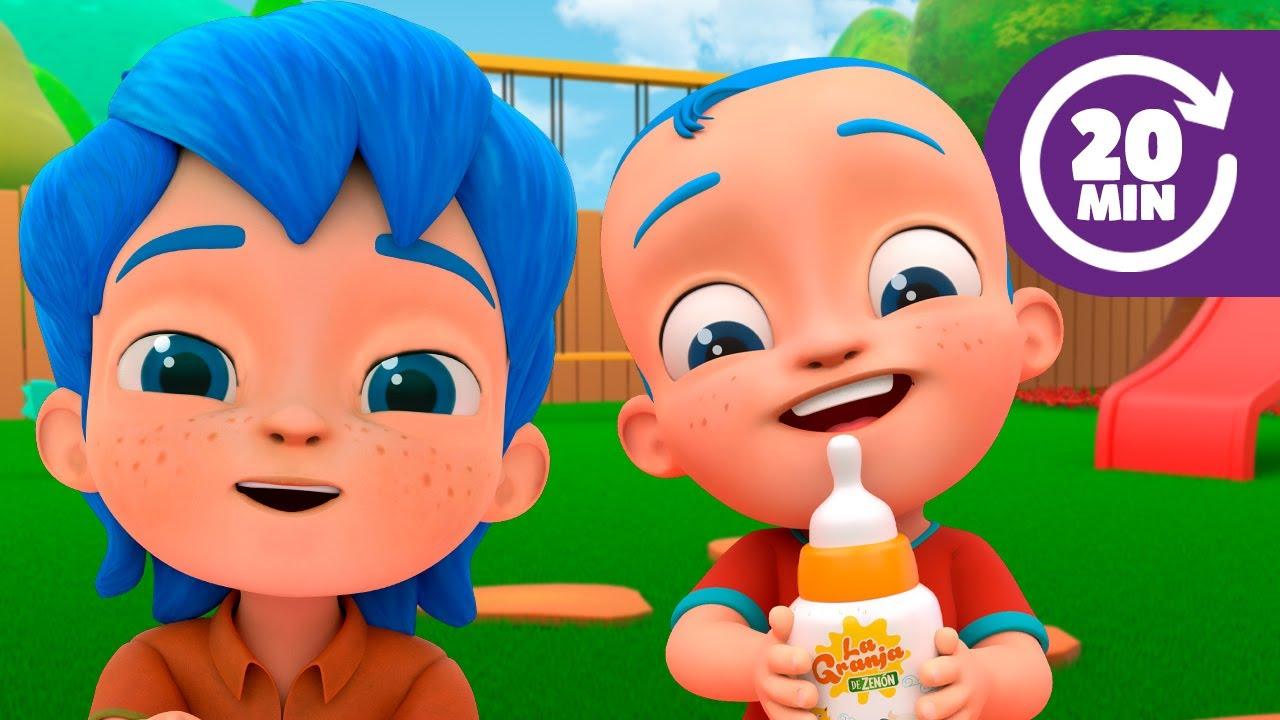 ¡Top 10 de La Familia Blu! Las Mejores Canciones Infantiles | El Reino Infantil