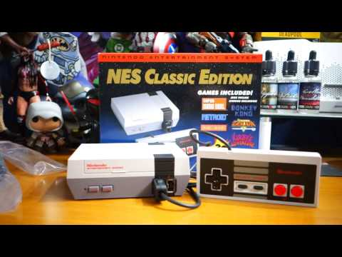 Nintendo NES Classic Edition Limited Edition Micro Console Unboxing