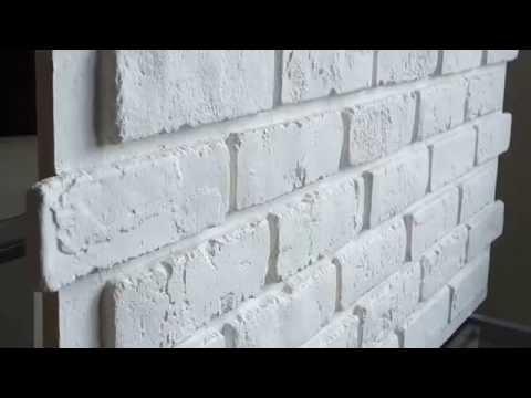 www.decopanels.de 3D-Wandpaneele Ziegelsteinoptik weiß