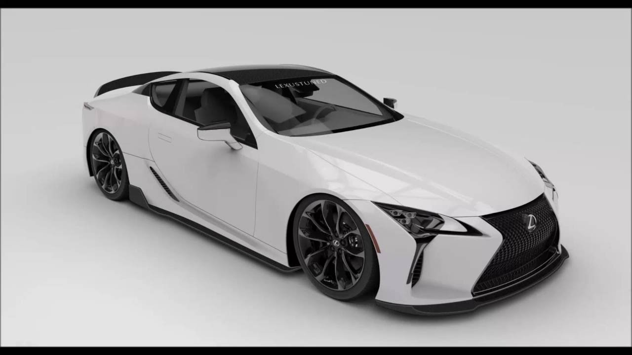 Lexus LC500 トヨタ レクサスLC500、2016 SEMAショーでお披露目予定のカスタムモデルのイメージ ...