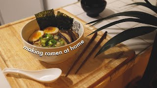 how to make ramen at home (no meat) 🍜