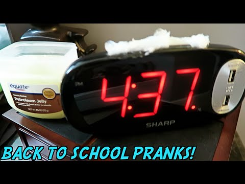 10 BEST PRANKS BACK TO SCHOOL!! - HOW TO PRANK