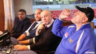SENSATIONAL! - TYSON FURY, JOHN FURY, PETER FURY & ASIF VALI  - FULL HOMECOMING PRESS CONFERENCE