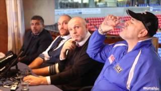 SENSATIONAL! - TYSON FURY, JOHN FURY, PETER FURY & ASIF VALI  - FULL HOMECOMING PRESS CONFERENCE