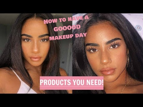HOW TO HAVE A GOOOOD MAKEUP DAY - PRODUCTS U NEED thumbnail