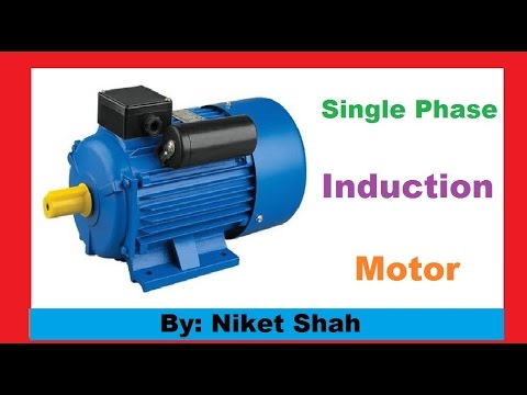 Single phase induction motor how it works doovi for How does a single phase motor work