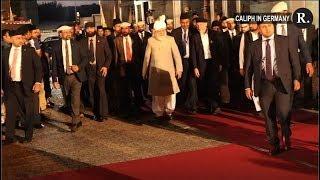 Caliph of Ahmadiyya Muslim Community Arrives in Germany To Dispel Misconceptions of Islam