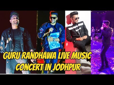 Uncut -Guru Randhawa live music concert in Jodhpur Rajasthan 2018