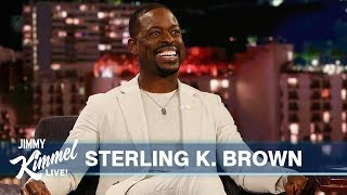 Sterling K. Brown on His Kids, Al Pacino and New Movies Waves & Frozen 2