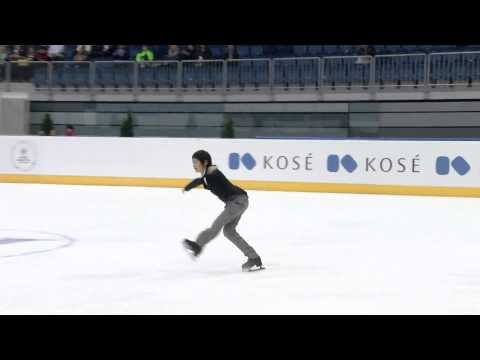 2015 ISU Junior Grand Prix of Figure Skating Men Free Skate Koshiro SHIMADA JPN