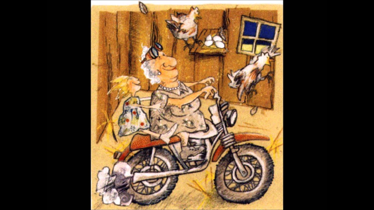 Meine Oma Fährt Im Hühnerstall Motorrad Umgedichtet