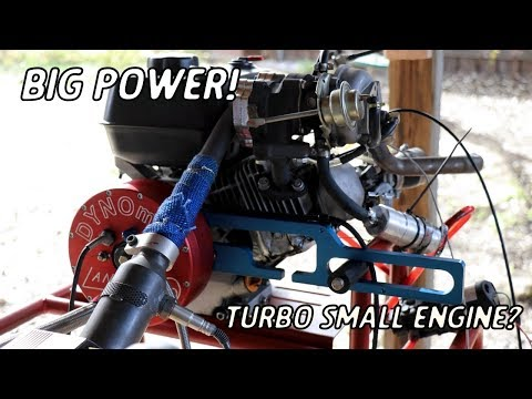 Testing the Turbo Go Kart Engine On the Dyno! (How Much HP?)