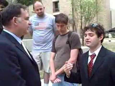 Congressman John Boozman talks w/ students 2 of 4