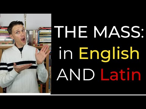 Going to a Latin and English Mass
