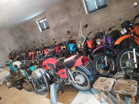 Шок! 33 мотоцикла ИЖ в одном подвале.