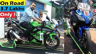 The Most Affordable Ninja | 2019 Kawasaki Ninja 300 ABS | Walkaround & Exhaust Note | Worth It ?