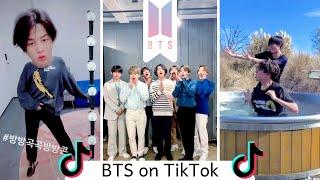 BTS Official TikTok   TikTok Compilation