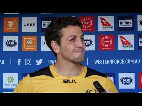 Western Force v Sydney Rays Post Game Press Conference