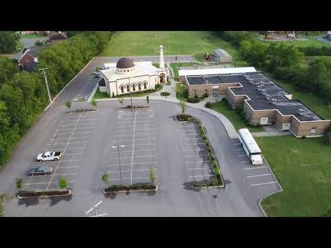 Beautiful Premises of the ICN Bellevue Masjid and Nashville International Academy.