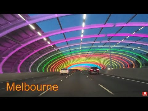 MELBOURNE CITY LINK BOLTE BRIDGE TOLL ROAD AUSTRALIA