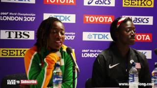 Torri Bowie SAY'S SHE DREAMT SHE WAS GOING TO WIN GOLD - Nuffin' Long Athletics