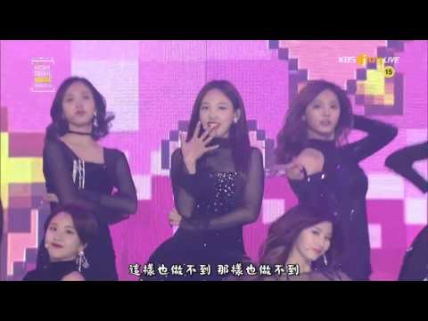 【中字】170119 Twice - INTRO + TT + CHEER UP Live @ SEOUL MUSIC AWARDS