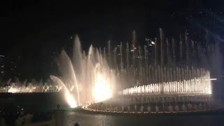 Dubai fountain- Enrique Iglesias-Hero