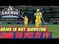 SACHIN SAGA NEW IPL UPDATE IS NOT WORKING OR GAME IS NOT WORKING !! HOW TO FIX IT ? WATCH THIS VIDEO