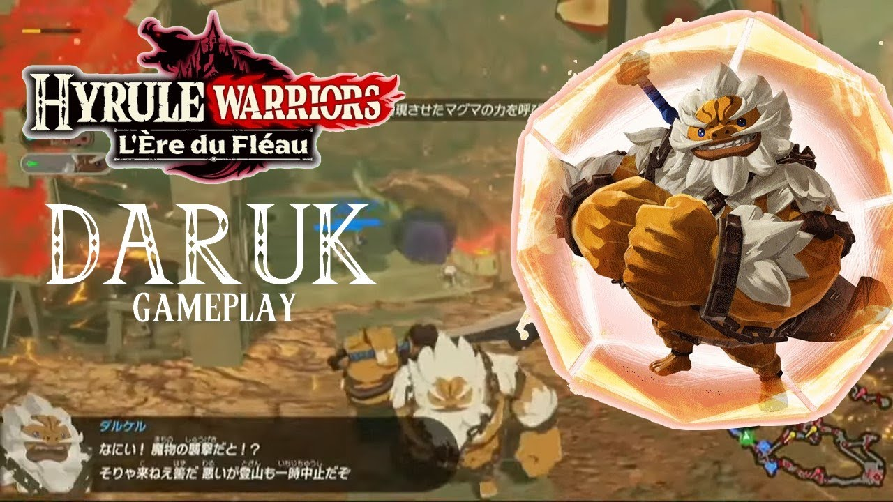 Daruk Impa Gameplay Hyrule Warriors L Ere Du Fleau Youtube