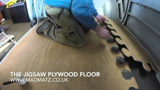 Camper Van Plywood Floor