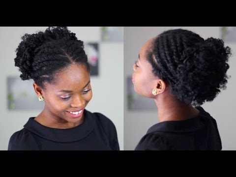 Coiffure Cheveux Cr 233 Pus Puffy Flat Twist Youtube
