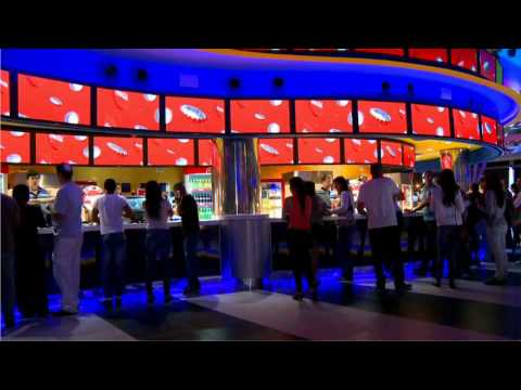 YCD Multimedia's digital signage solution at Cinema City