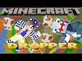 Minecraft Dropper-Little Carly-SHARKY ACCEPTS THE CHALLENGE!!