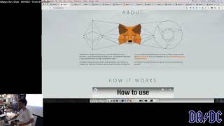Simple Transactions with MetaMask - S01E03P04 - Talking to Ethereum - DApps Dev Club