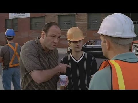 Tony Visited The Construction Site - The Sopranos HD