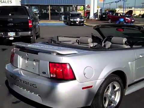 mustang convertible 2004 40th anniversary edition youtube. Black Bedroom Furniture Sets. Home Design Ideas