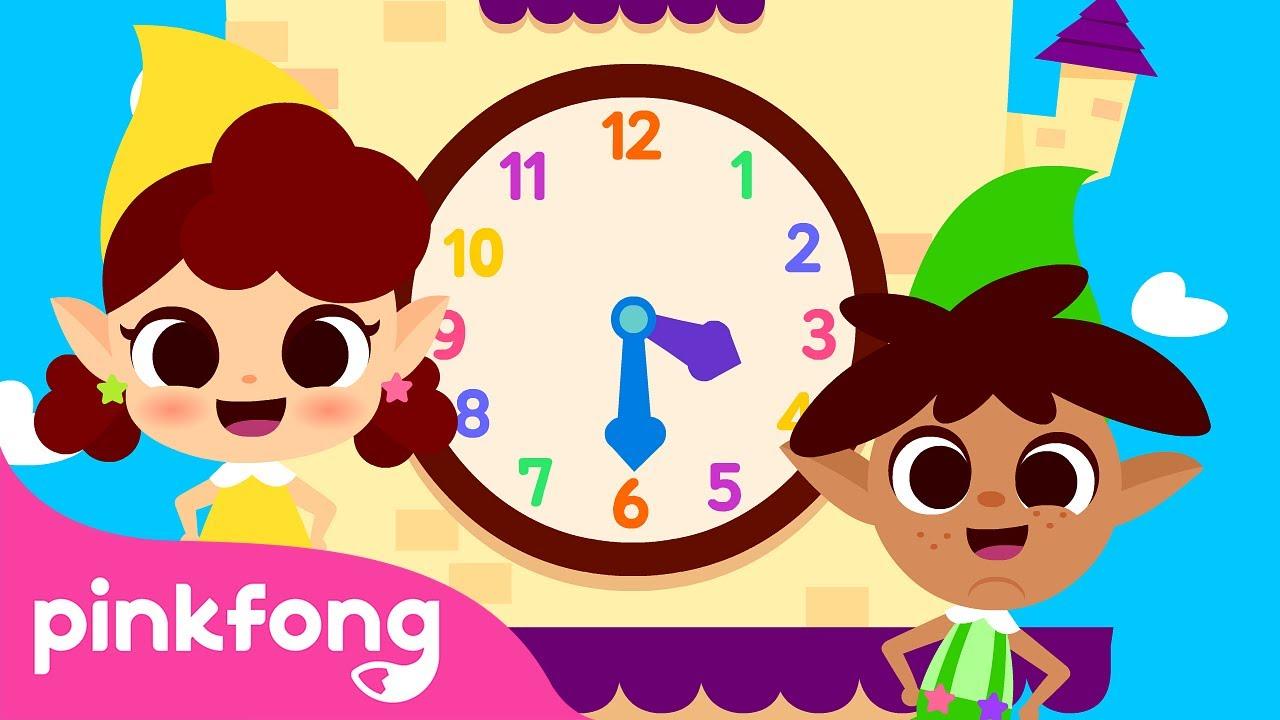 ⏰Vendo as Horas 2 | Canções do Tempo | Pinkfong Canções para Crianças
