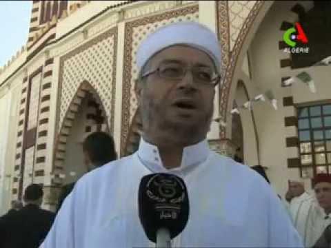 Inauguration d'une nouvelle mosquée à Makam Echahid