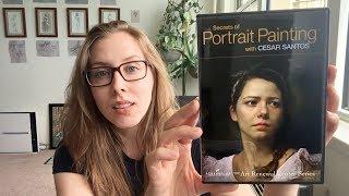 Review: Secrets of Portrait Painting with CESAR SANTOS