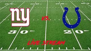New York Giants vs Indianapolis Colts Live Stream Week 16 #Giants #Colts #NFLWeek16