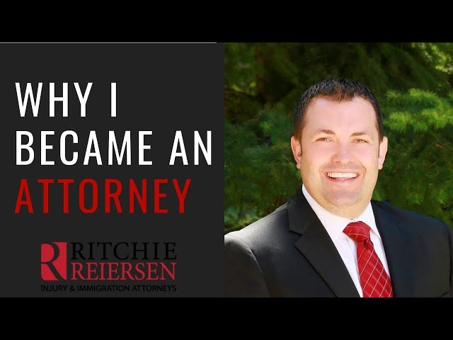 Why I Became an Attorney