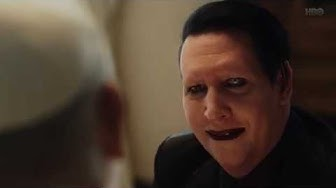 The New Pope (2020) - Marilyn Manson Pays a Visit