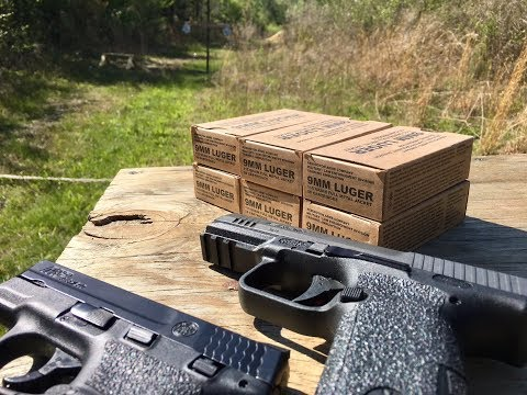 Remington Military Training Ammunition 9mm Test and Review