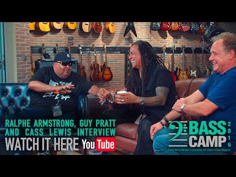 Bass Camp 2016 Interviews - Guy Pratt, Ralphe Armstrong and Cass Lewis