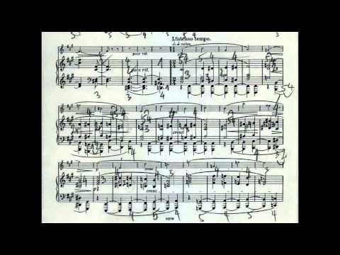 Dohnányi Violin-Piano Sonata op. 21 Bruce Berg with Tibor Szász Jan. 14, 1990 USA