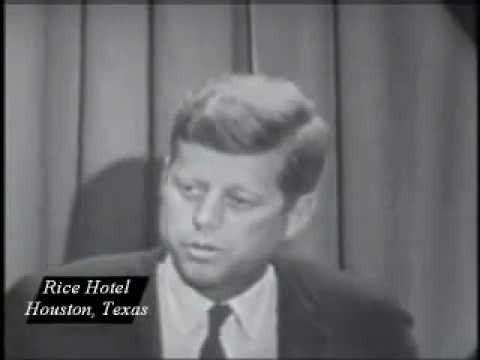 JFK Speech on Separation of Church & State (1960)