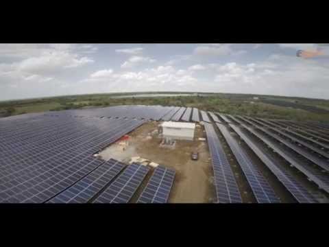 Aditya Birla Solar Power Plant installed by Sai Enterprises