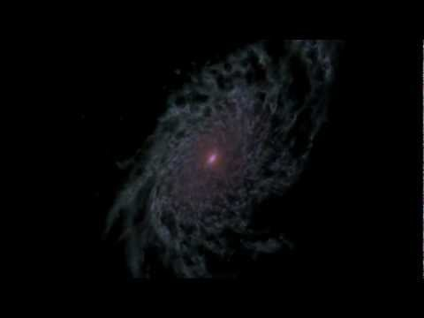 NASA | Computer Model Shows a Disk Galaxy's Life History