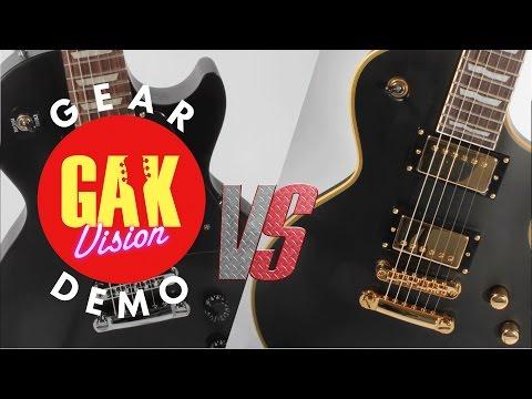 VERSUS VIDEO: Gibson USA 2016 Les Paul Studio Faded Vs LTD EC-1000 VB Duncan